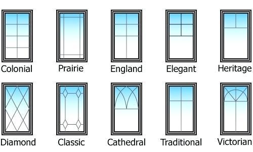 Виды декоративной раскладки