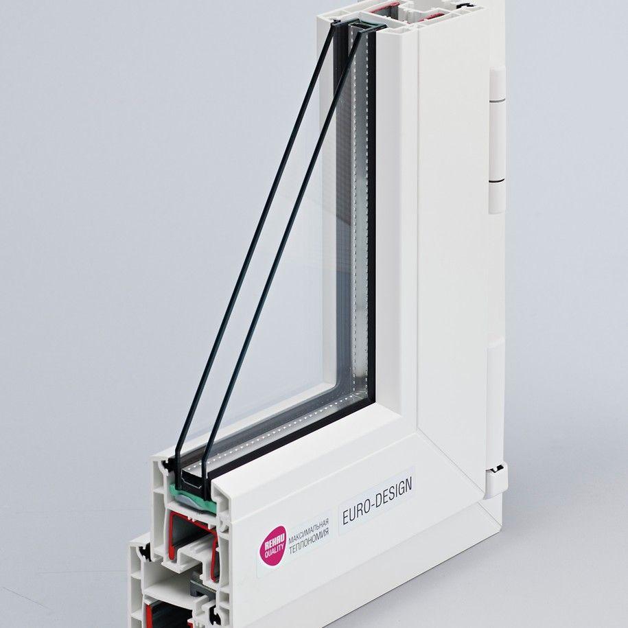 Трехкамерный профиль Euro-Design