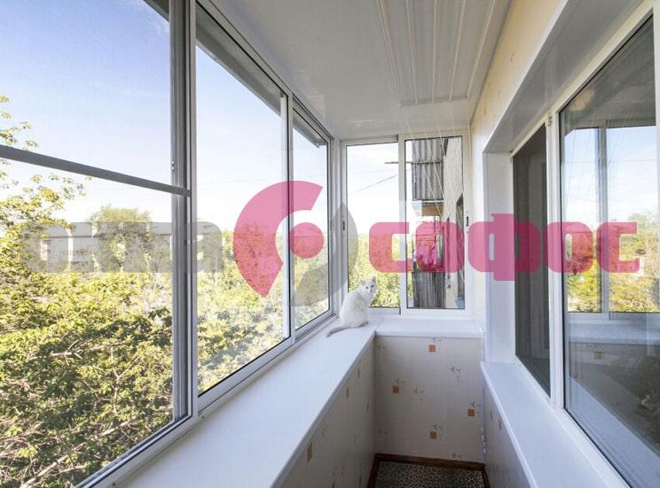Специфика остекления балконов в домах разных типов в Красногорске и Звенигороде