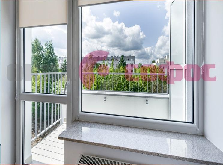Остекление балконов и замена окон