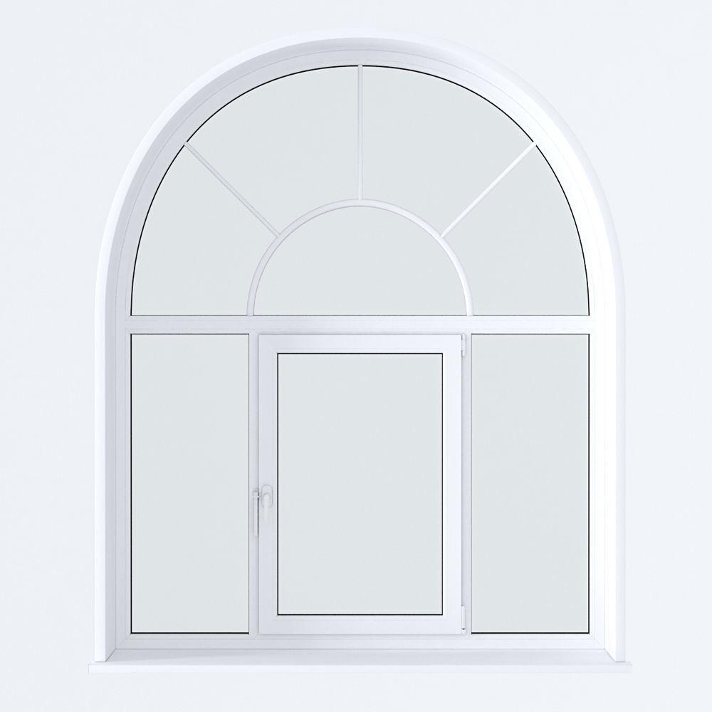Пластиковые окна нестандартной формы по выгодной стоимости от производителя в Москве