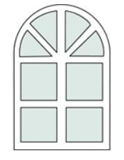 Полуциркулярные окна