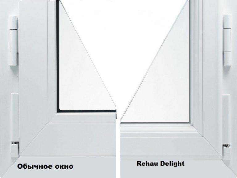 Купить пластиковые окна Rehau Delight