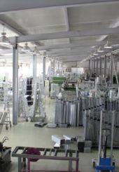 Рабочий процесс на заводе Софос