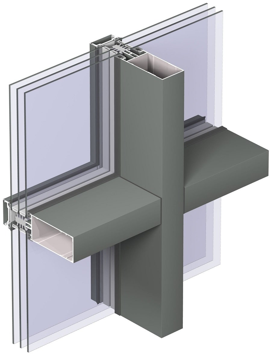 Алюминиевые системы остекления
