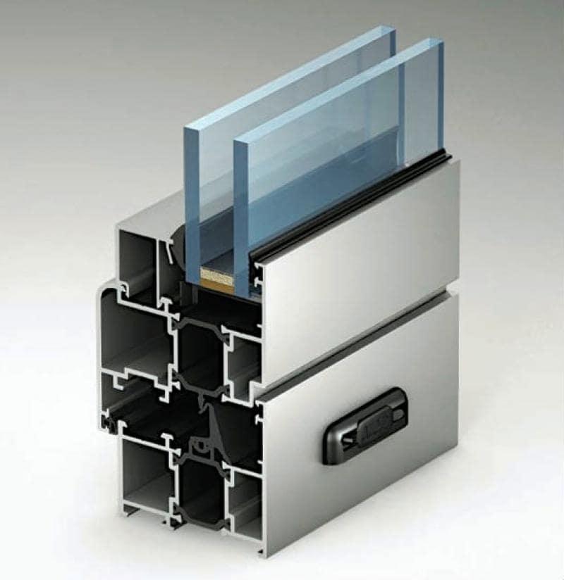 Алюминиевый теплый профиль