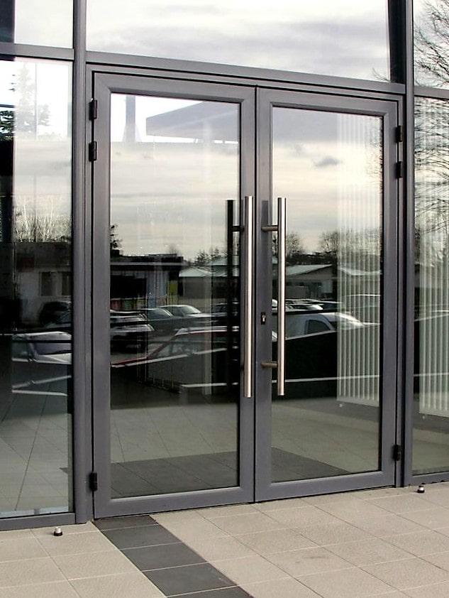Алюминиевые двери Аlutech