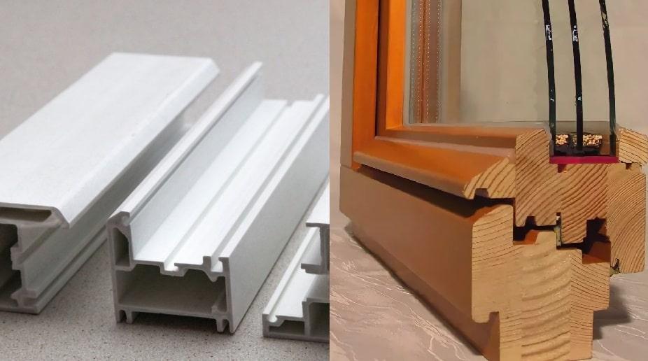 Отличия деревянных окон от пластиковых