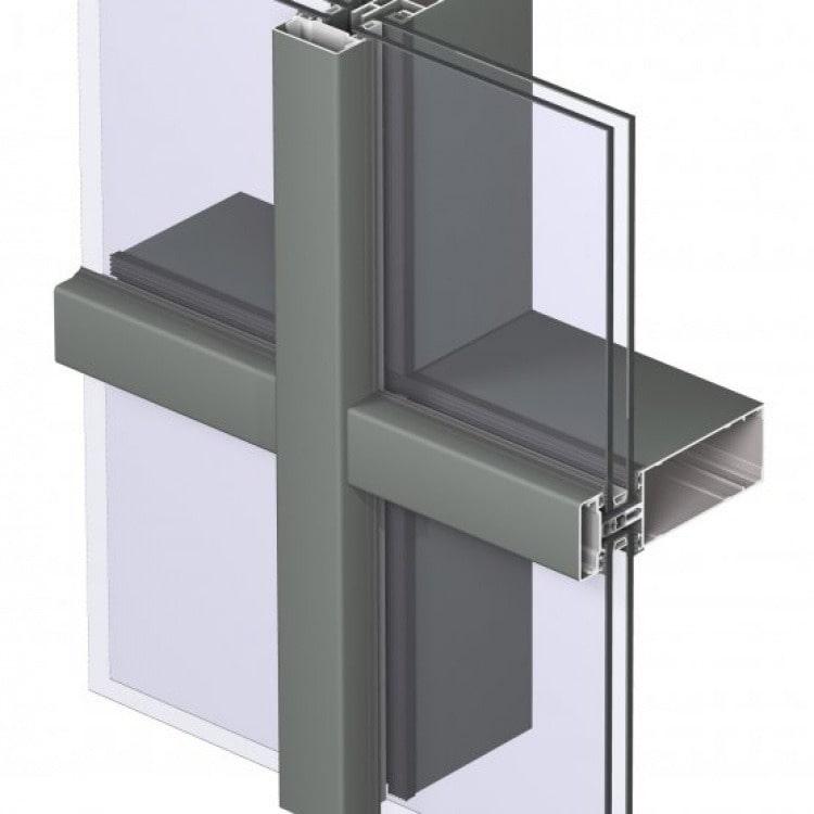 Алюминиевая система фасада