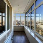 Теплое остекление балконов и лоджий в Долгопрудном
