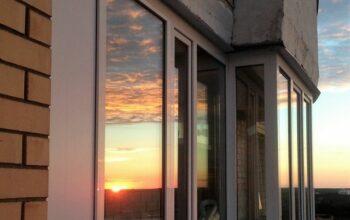Холодное остекление балконов и лоджий в Долгопрудном