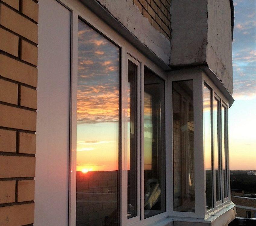 Холодное остекление балконов в Долгопрудном