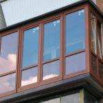 Панорамное остекление балконов и лоджий в Митино