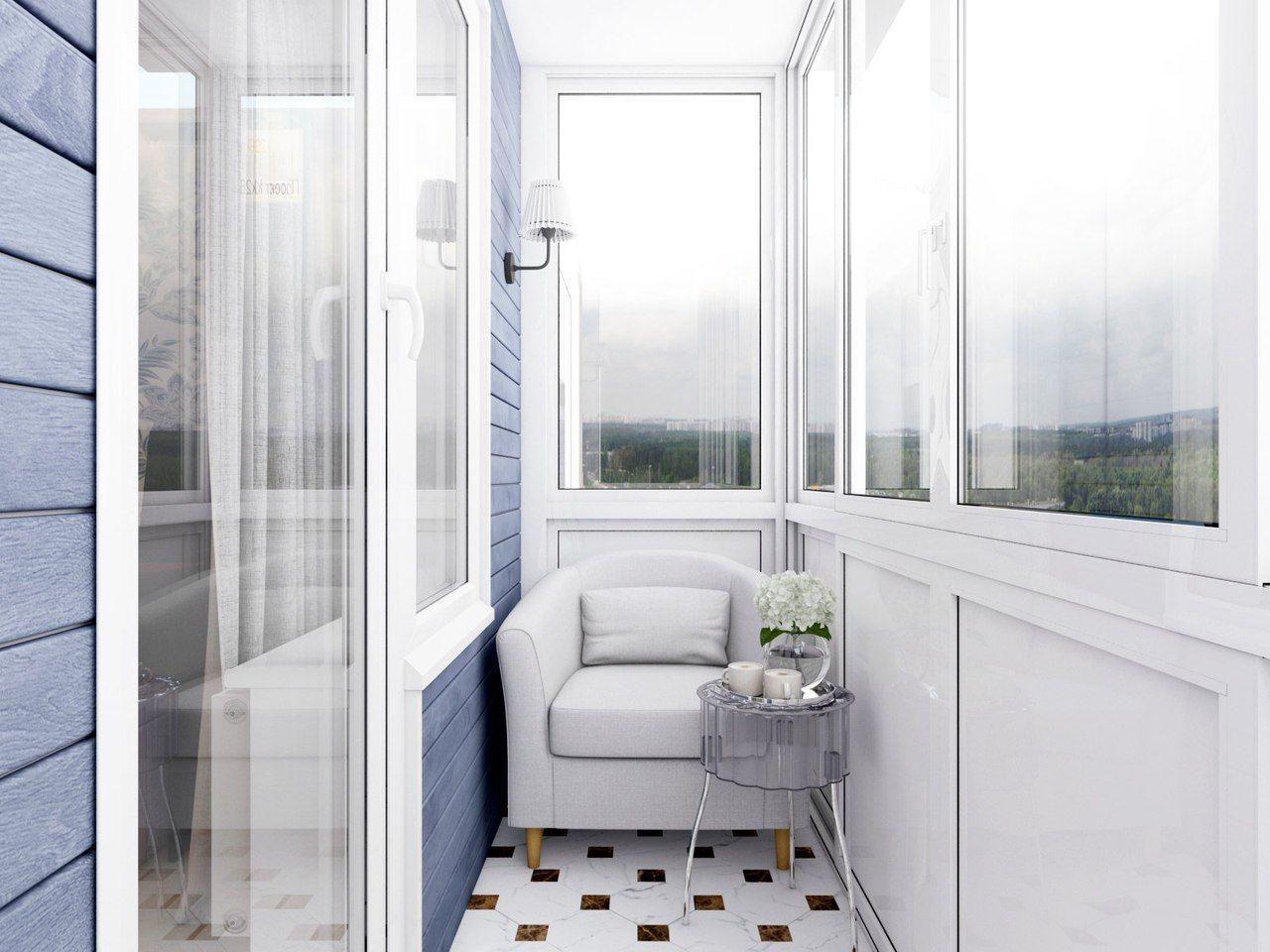 Теплое остекление балконов и лоджий в Митино