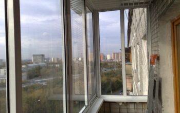 Холодное остекление балконов и лоджий в Одинцово