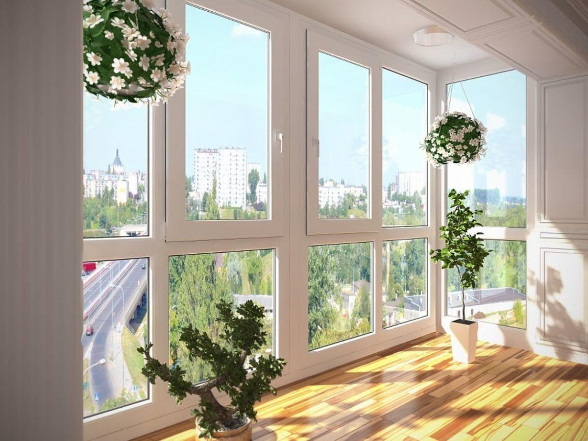 Панорамное остекление балконов и лоджий в Звенигороде