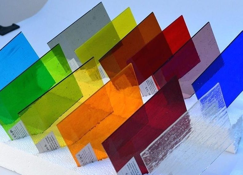 Цветные стекла в стеклопакеты