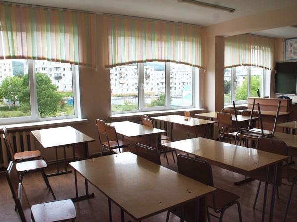 Размеры окон в школе