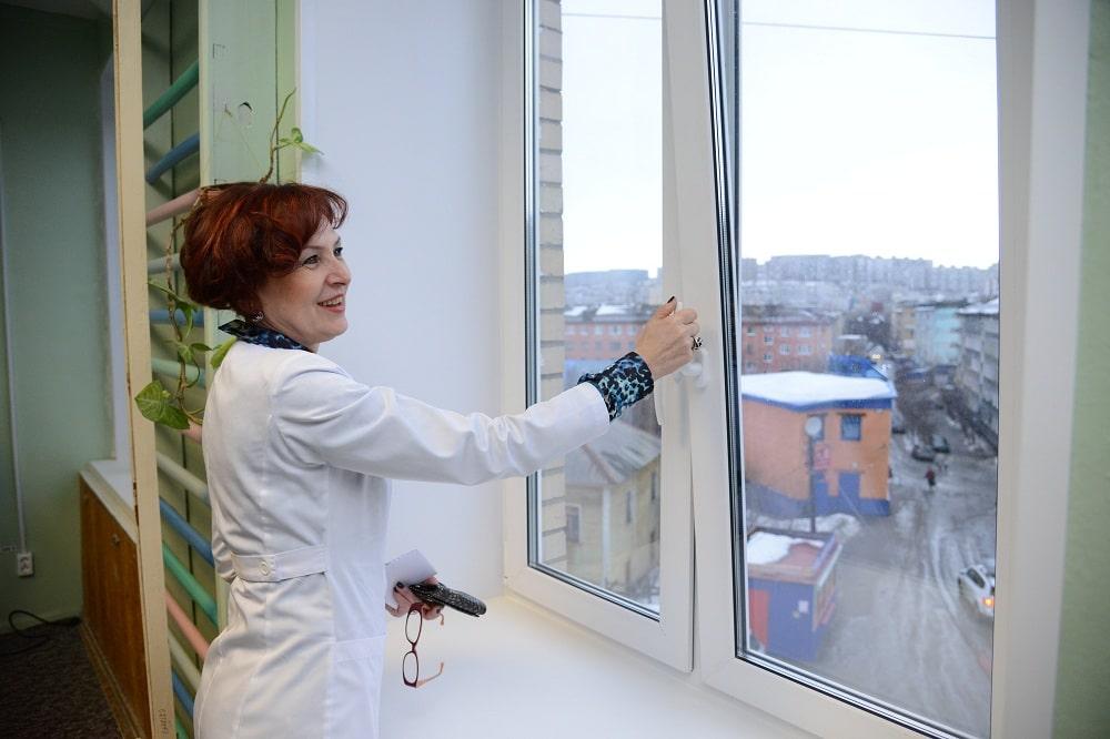 Окна в медицинские учреждения