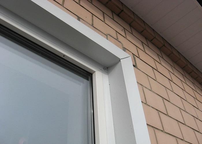 Наружные откосы на окна
