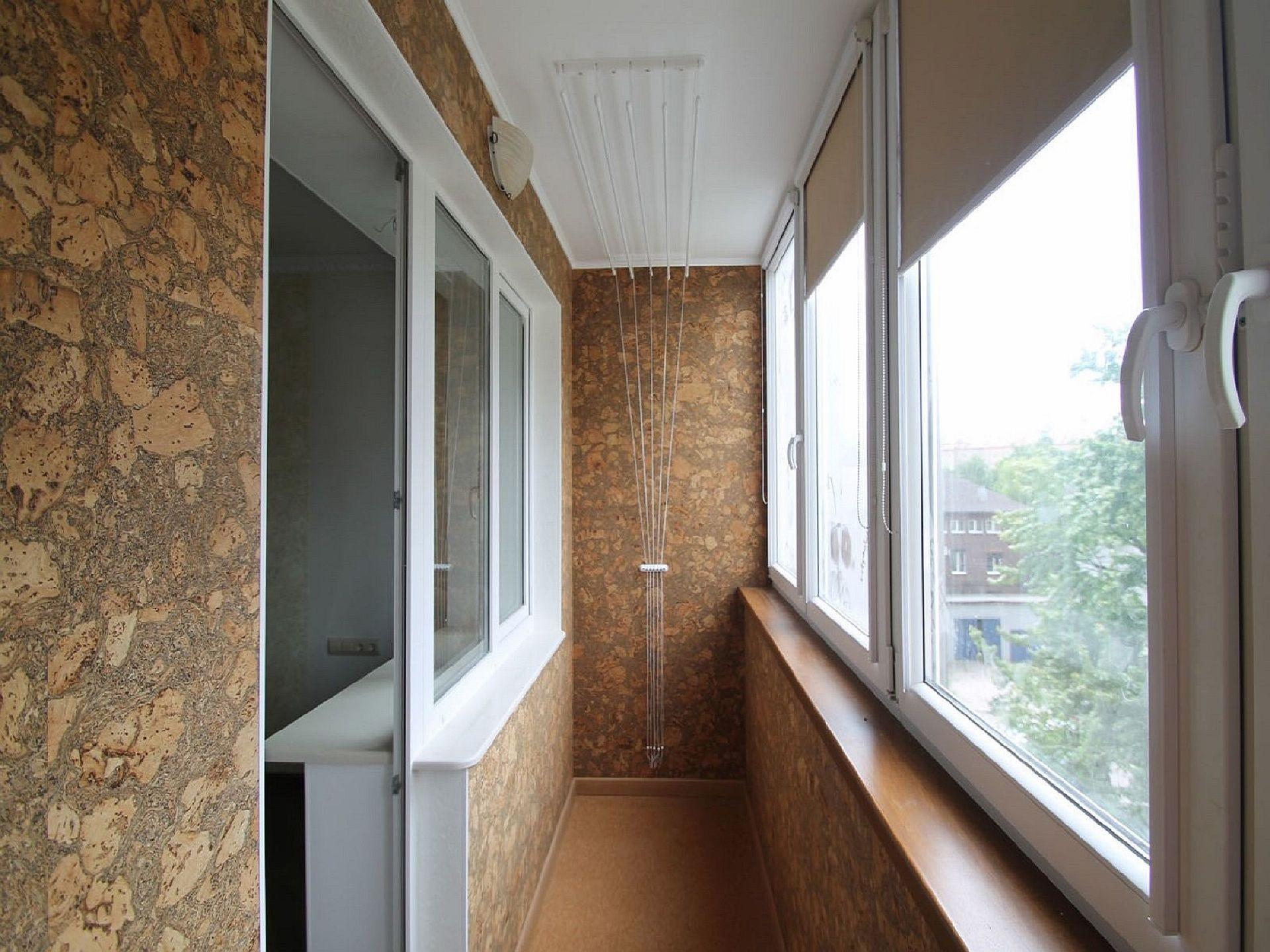 Косметический ремонт балкона