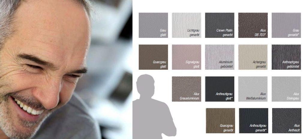 Цветной профиль Рехау
