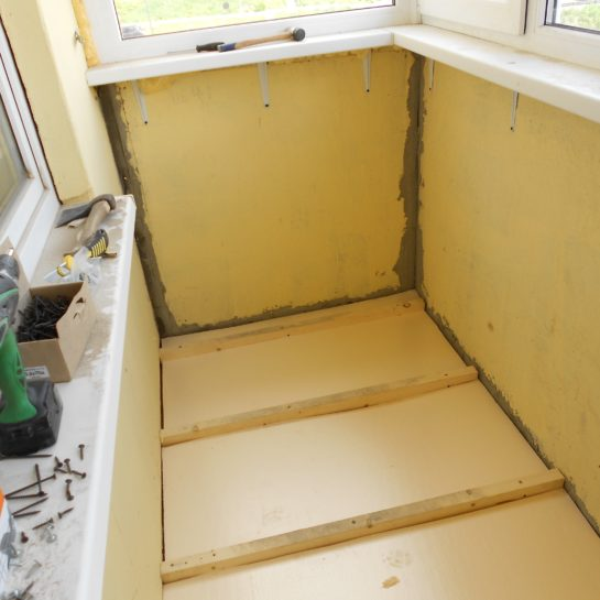 Ошибки при отделке балкона утеплителем