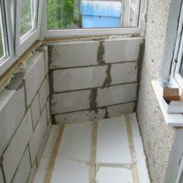 Ошибки в утеплении балкона