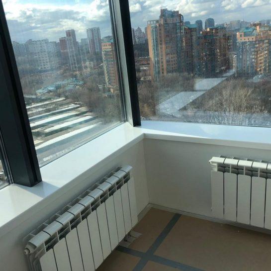 Можно ли батарею на балкон