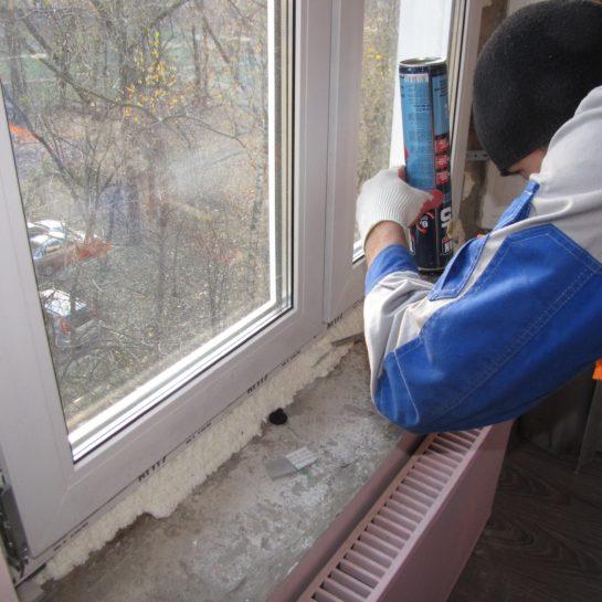 Замена на пластиковые окна в квартире