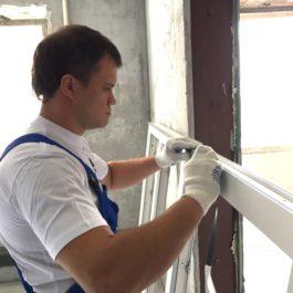 Замена пластиковых окон на балконе