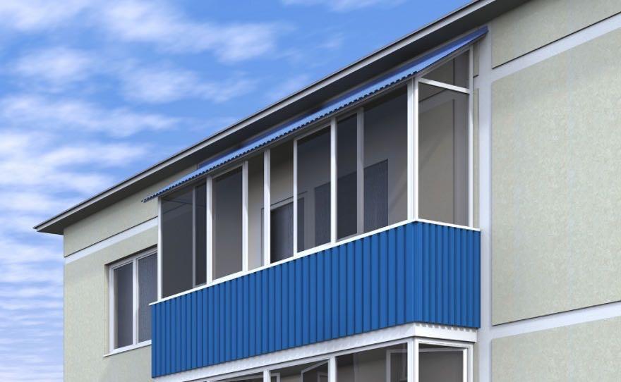 Окна на балкон высокие этажи