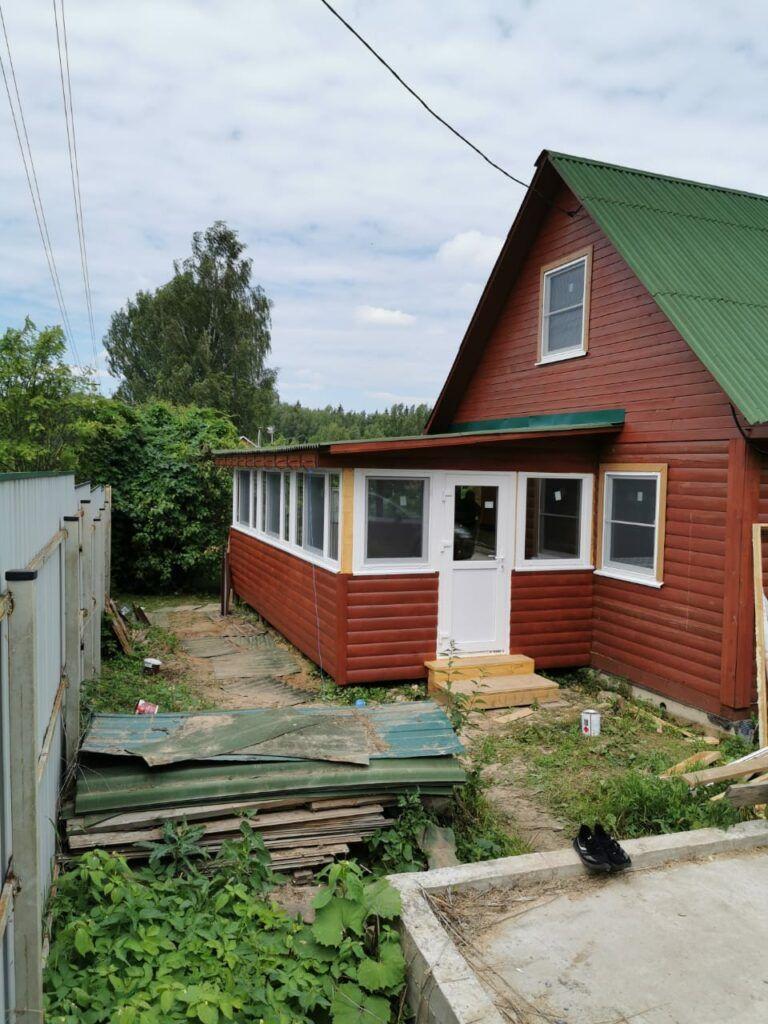Остекление дачного дома в Одинцово