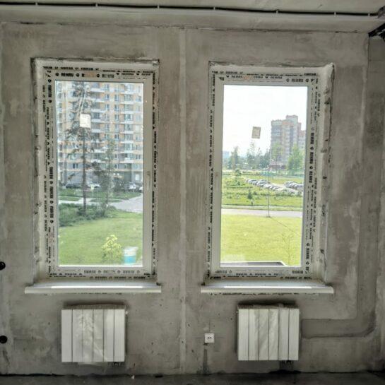 Остекление новостройки в Зеленограде
