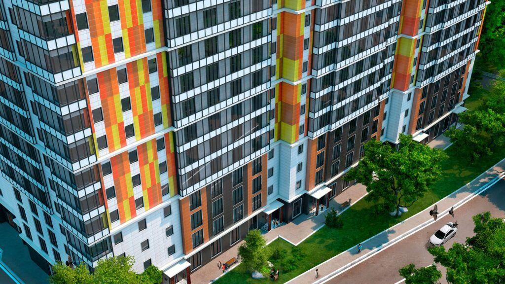 Остекление жилого комплекса «Андреевка»