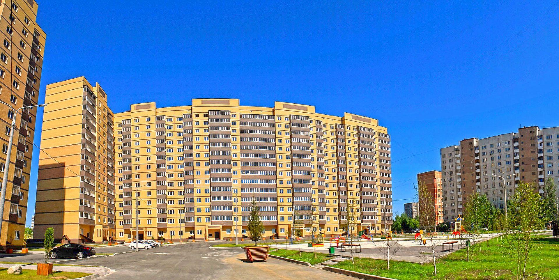 Остекление жилого комплекса Шустовъ Парк