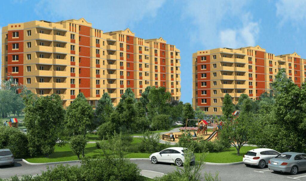 Остекление жилого комплекса «Смирновка»