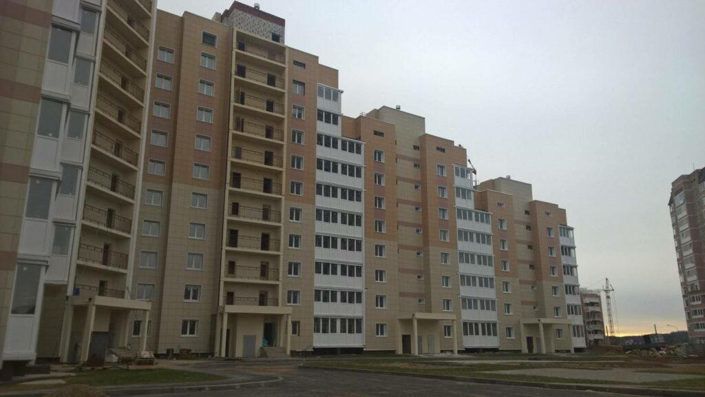 Остекление жилого комплекса Восточный берег