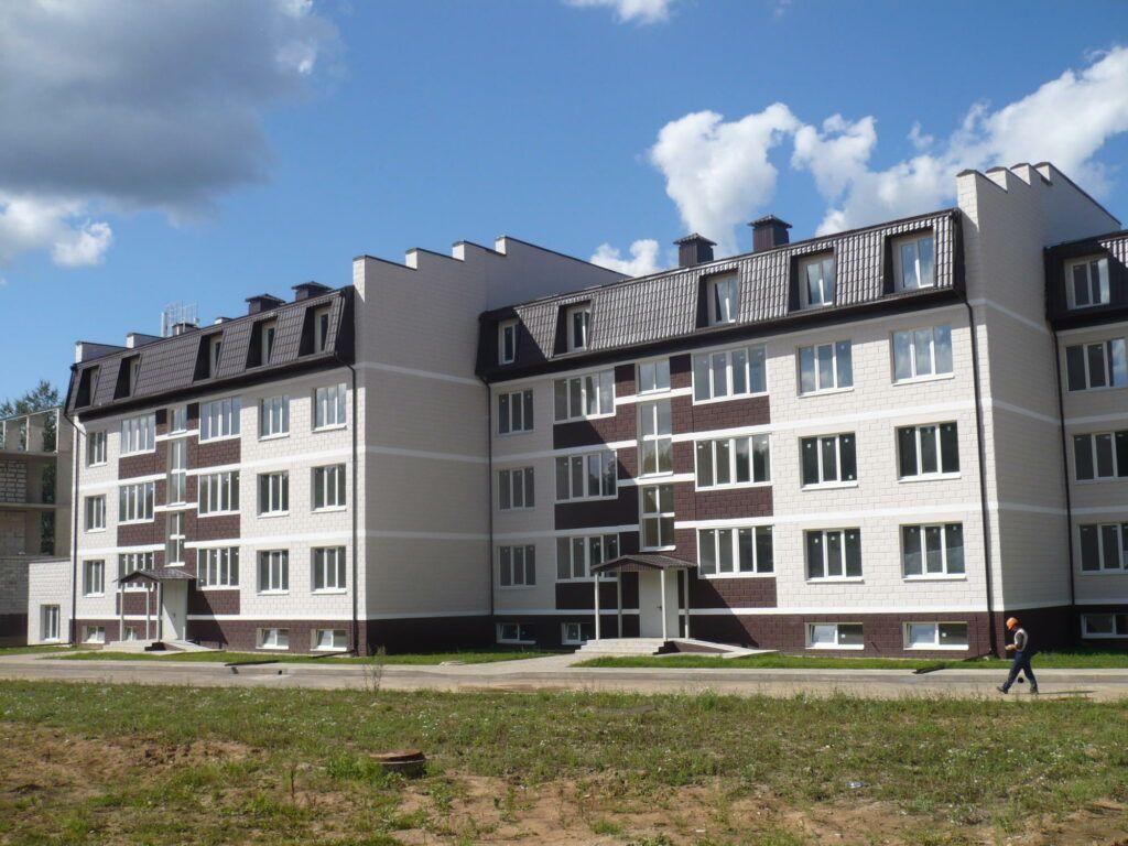 Остекление жилого комплекса «Истринское подворье»