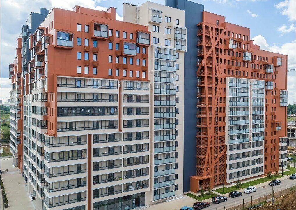 Остекление жилого комплекса Отрада