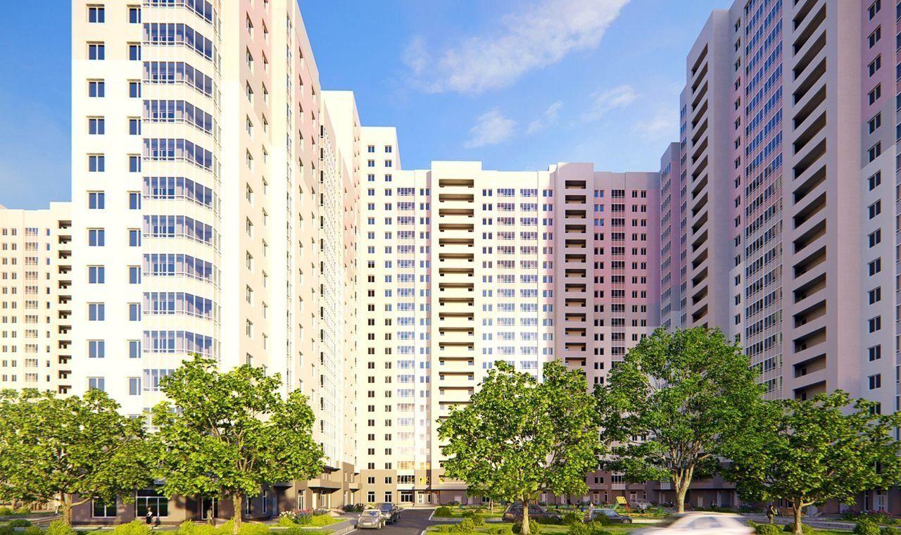 Остекление жилого комплекса Южный