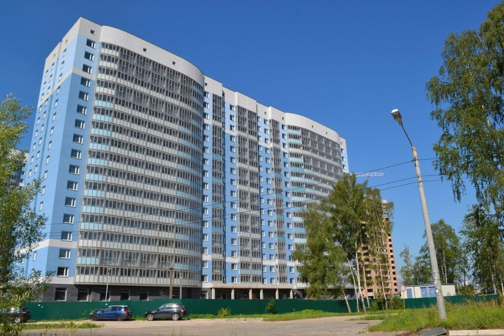 Остекление жилого комплекса «Лобня Сити»