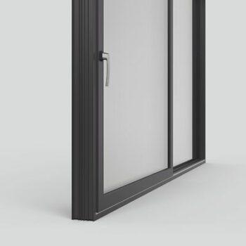 Двери вижная створка Intelio Slide