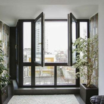 Штульповое окно ПВХ