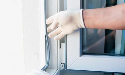 Замена уплотнителя на окно пвх